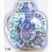 Floral Blush Cloisonne