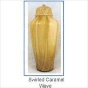 Swirled Caramel Wave