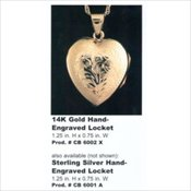 Keepsake Heart Lockets
