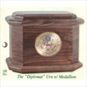 The Diplomat Urn with Medallion