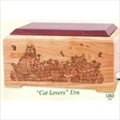 Cat Lovers Urn