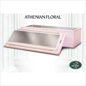 Athenian® Floral Stainless Steel Vault