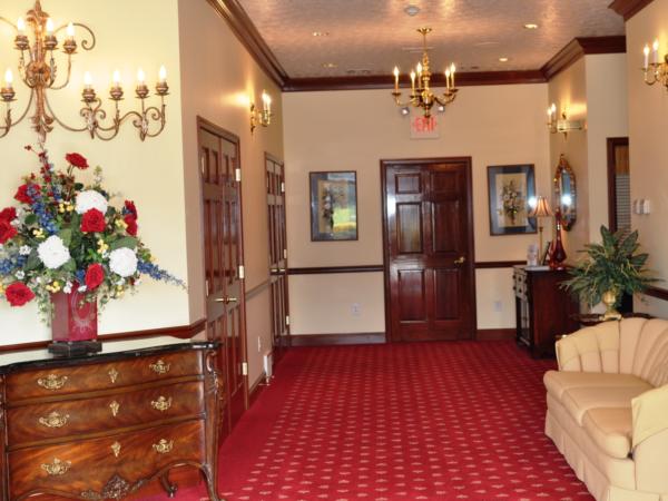Front Hallway to Restrooms