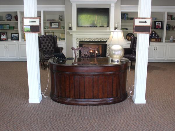 Lobby at front door