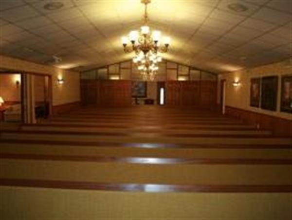 Spacious Chapel