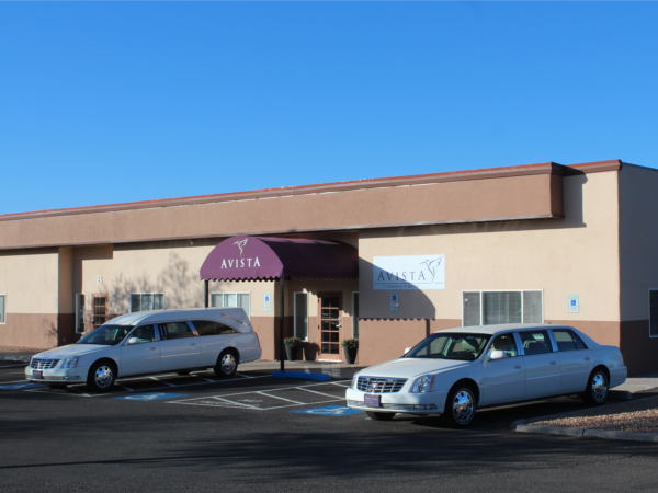 Welcome to Avista Cremation and Burial where we are located at 2500 Camino Entrada in the beautiful city of Santa Fe, New Mexico.