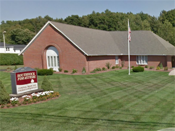 Southwick Forastiere Funeral Home, serves the communities of Southwick, Westfield, Granville, Tolland, Russell and surrounding hill towns in Massachsuetts and Connecticut. The funeral home was built in 1984 and has been a wonderful addition to this quaint New England community.