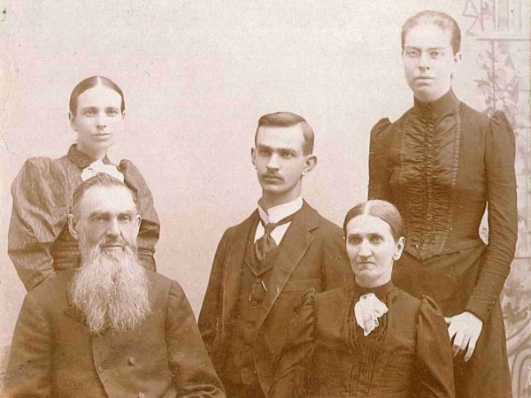 Our founding family in 1894.