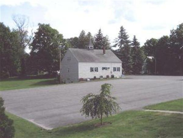 Our parking area was expanded in 2006, and more than doubled in size.