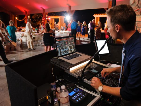 Music In Motion DJ, Corey Ozair at Smithview Pavilion reception