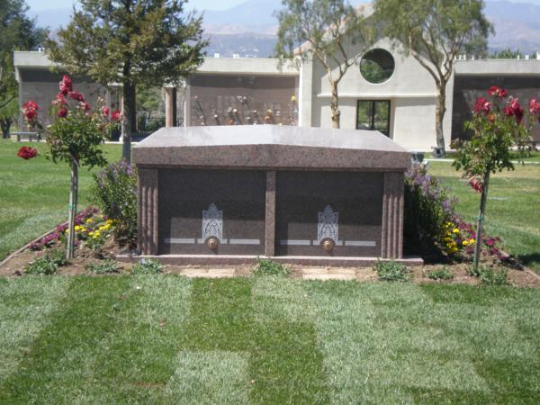 We can also help a family with the selection of custom one of a kind private mausoleum design from 1 entombment up to 12.