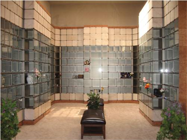 Court of Remembrance Columbarium within Serenity Mausoleum