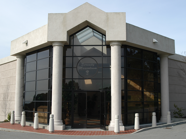 Serenity Mausoleum Entrance