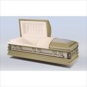 Golden Sand Stainless Steel Casket