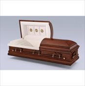 Warren Oak Wood Casket