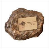 Granite Memorial Rock - Garden Series