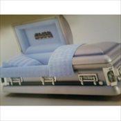 Blue Platinum Half Couch