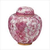 Magnolia Pink Cloisonne Keepsake