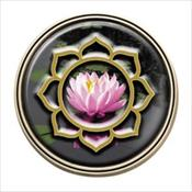 LifeStories Keepsake Medallion - Lotus Flower