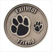 LifeStories Keepsake Medallion - Faithful Friend