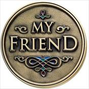 LifeStories Keepsake Medallion - My Friend
