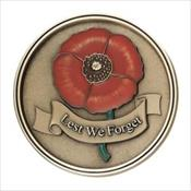 LifeStories Keepsake Medallion - Lest We Forget
