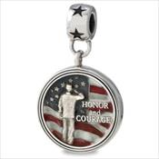 LifeStories Medallion Bead - Honor / Courage