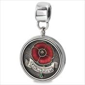 LifeStories Medallion Bead - Lest We Forget