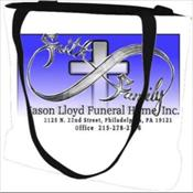 Jason Lloyd Funeral Home Woven Tote Bag