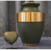 The Trieste Sage Green Urn