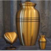 Classic Bronze Urn ($180)