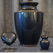 The Trinity Moonlight Blue Urn