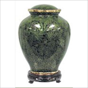Hunter Green Cloisonne