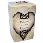 Heart Textured Stone