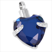 8. Blue Heart Gem