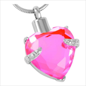 8. Pink Heart Gem