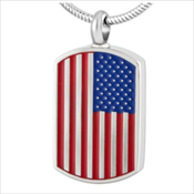 49. Flag Dog Tag