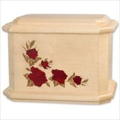 Rosewood Inlay Roses