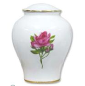 Porcelain Rose Urn