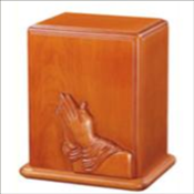 Praying Hands Urn