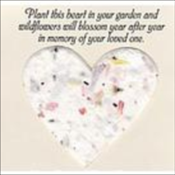 Blooming Heart Seed Cards