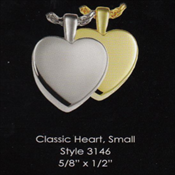 Classic Heart - Small