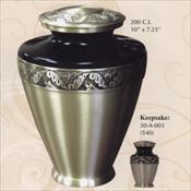 Golden Leaf - Brass Urn