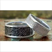 Life Print Keepsake Ring