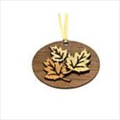 Wooden Urn Pendant