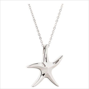 Stainless Steel Starfish Necklace