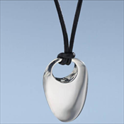 Sterling Silver Nambe' Strength Pendant
