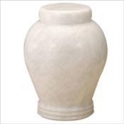 Antique White Urn