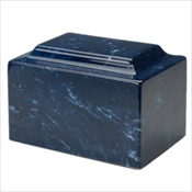 Navy Synthetic Marble Urn