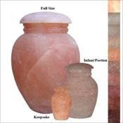 Natural Salt Urn